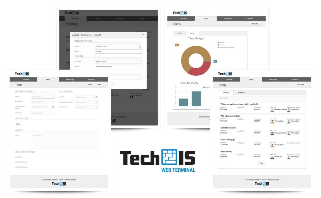 TechIS Web Terminal
